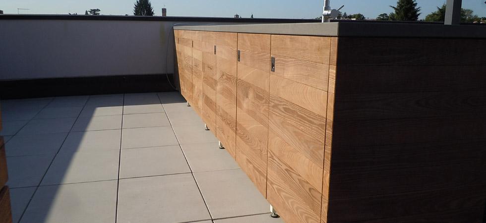 Realizzazioni esempi di pavimenti e altri lavori in - Pavimenti in legno per esterno ...